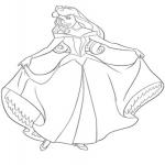Dessin Princesse Aurore