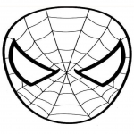 Spiderman visage