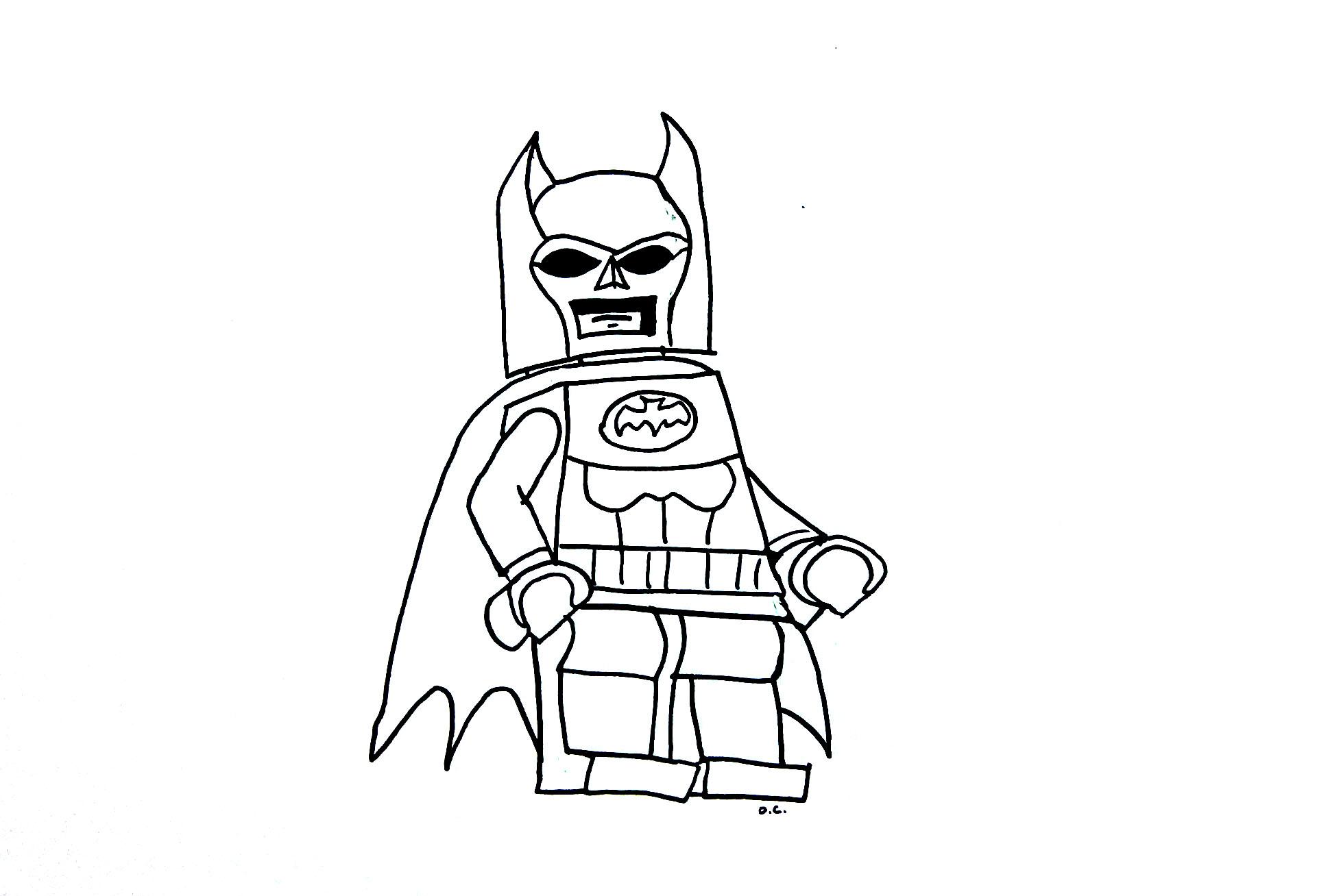 Coloriage lego batman imprimer sur coloriages info - Coloriage a imprimer batman gratuit ...
