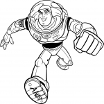 Coloriage Buzz Toy Story
