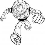 Buzz Toy Story dessin à colorier