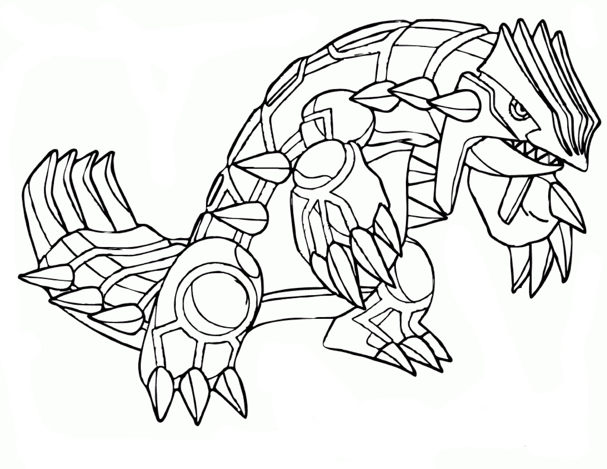 Coloriage pokemon groudon imprimer sur coloriages info - Coloriage info ...