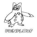 Coloriage Pokemon Prinplouf