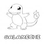 Coloriage Salameche