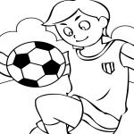 Jeune footballeur