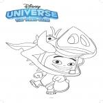 Coloriage Disney Universe
