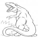 T-rex Dinosaure