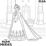 Princesse reine des neiges