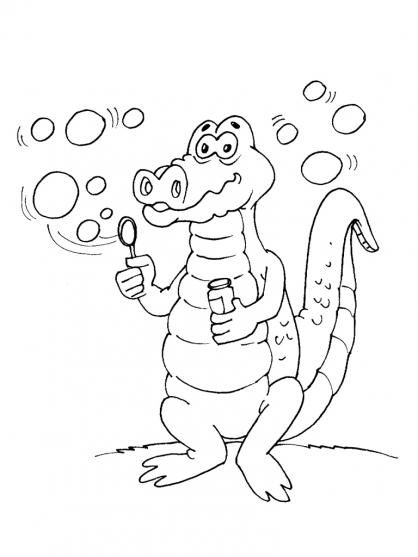 Coloriage Crocodile Mechant.Coloriage Crocodile Rigolo A Imprimer Sur Coloriages Info