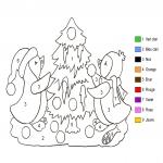 Coloriage Magique noël