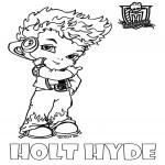 Coloriage Bébé Holt Hyde