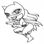 Coloriage Catwoman enfant
