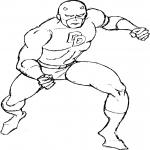 Daredevil dessin à colorier