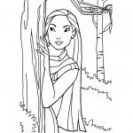 Fille Pocahontas