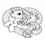 Little Pony dessin à colorier