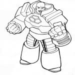 Méchant dans Superman dessin à colorier
