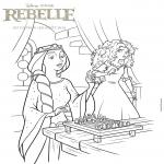 Merida Rebelle dessin à colorier