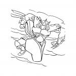 Shredder dessin à colorier
