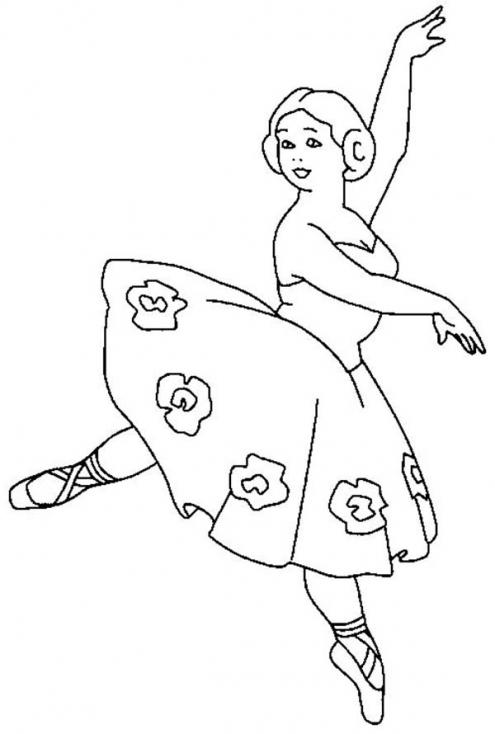 Danseuse fillette