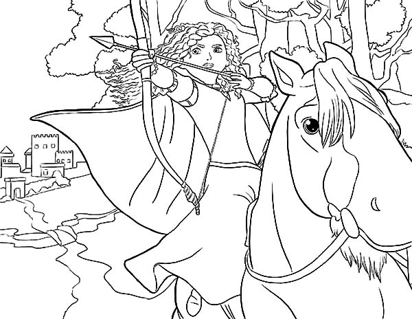 meridas face coloring pages - photo#15