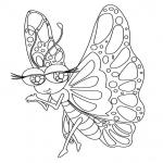 Coloriage Papillon mignon