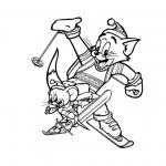 Tom et Jerry au Ski