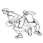 NBA dessin à colorier