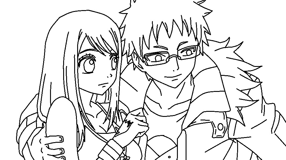 Coloriage lucy fairy tail imprimer sur coloriages info - Fairy tail coloriage ...