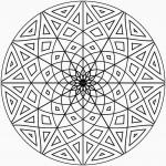 Coloriage Mandala pour adulte