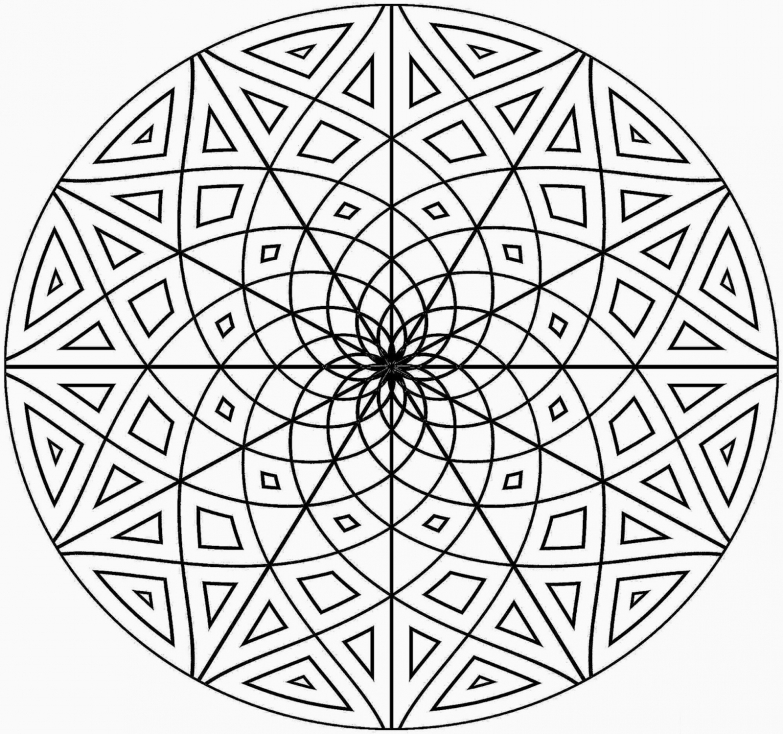 Mandala pour adulte