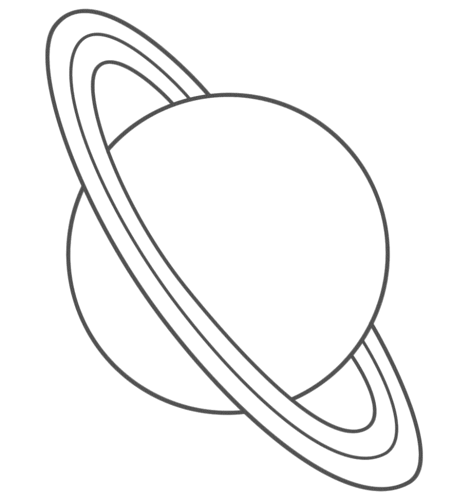 Images of Saturn Planet Template - #SpaceHero
