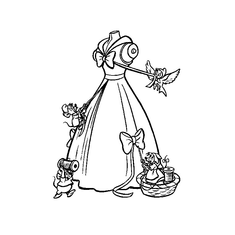 robe de cendrillon