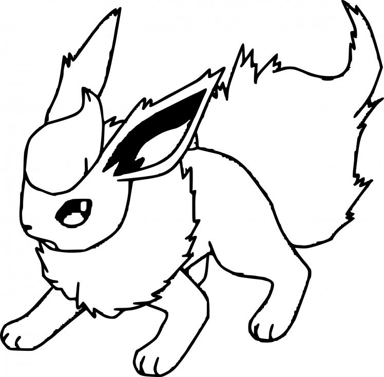 Coloriage Pyroli Pokemon à imprimer