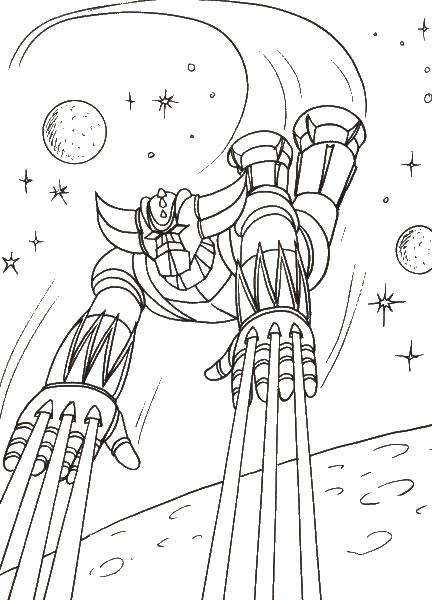 Goldorak robot