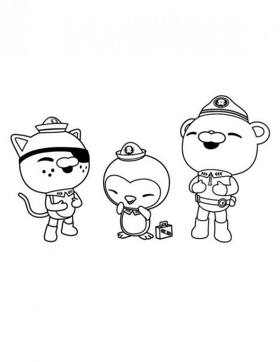 Coloriage les octonauts dessin imprimer sur coloriages info - Octonauts dessin anime ...
