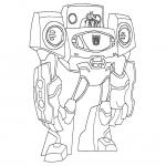 Coloriage Transformers dessin
