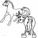 Coloriage Cheval Horseland