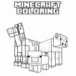 Coloriage Animaux de Minecraft