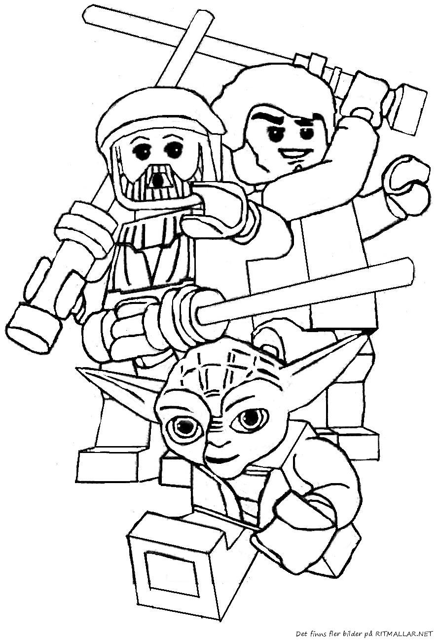 coloriage lego star wars