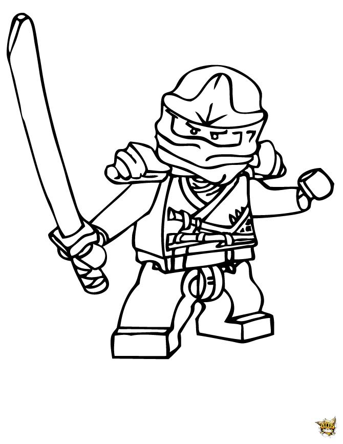 Coloriage ninjago lego imprimer sur coloriages info - Ninjago a imprimer ...