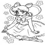 Coloriage Princesse Sailor Moon
