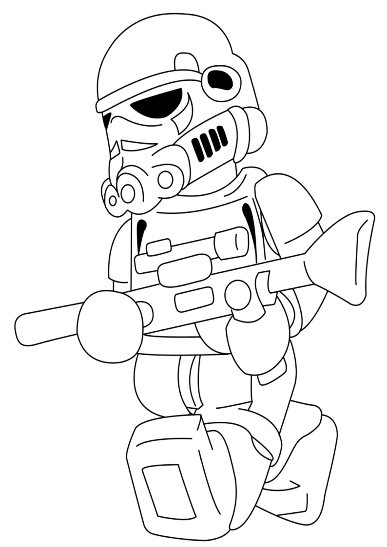 Coloriage star wars lego imprimer sur coloriages info - Dessin lego star wars ...