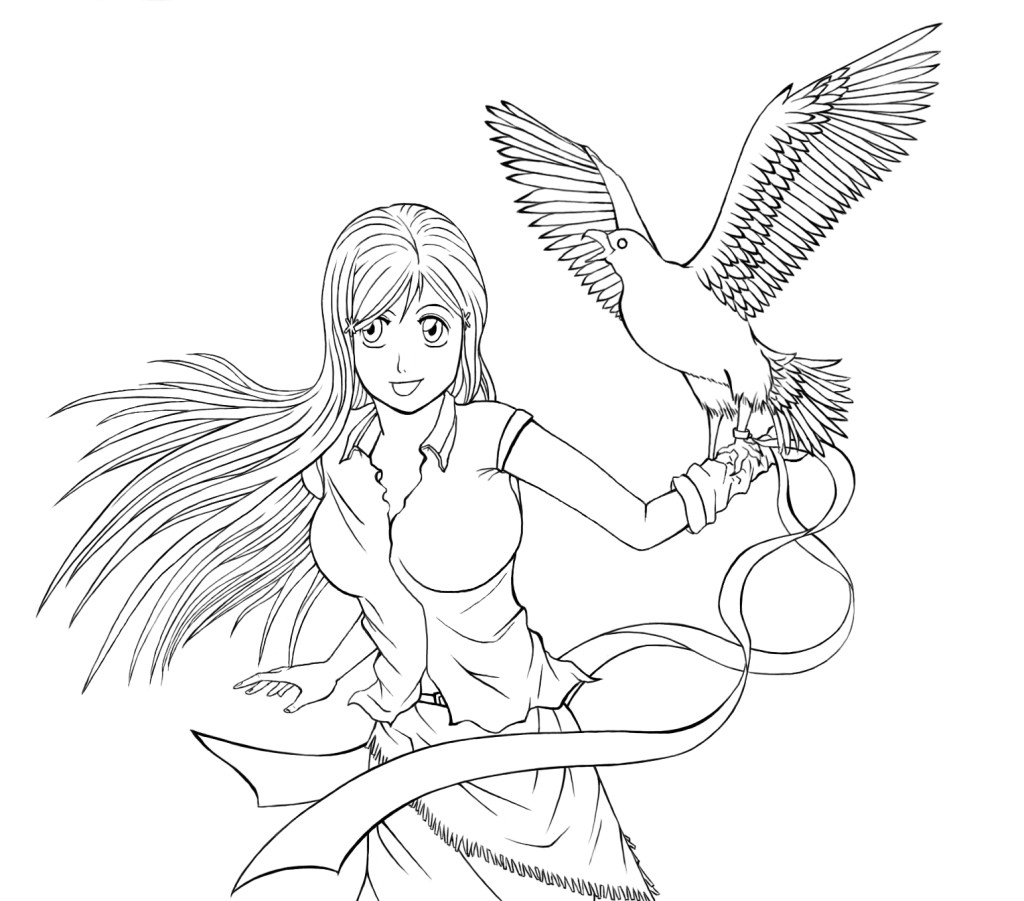 bleach coloring book pages - photo#39