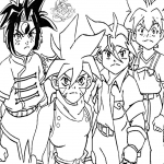 Coloriage Personnage Beyblade