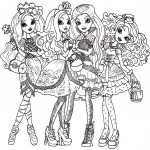 Ever After High dessin à colorier