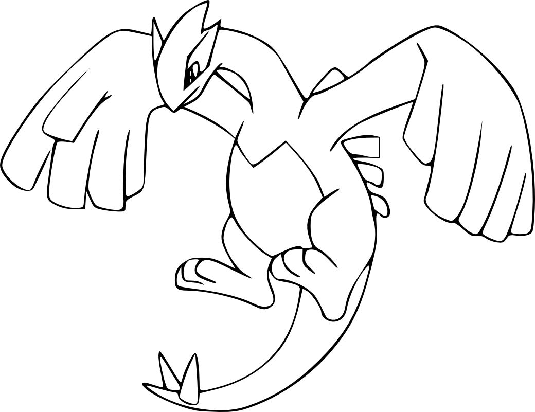 Yveltal coloring pages coloring pages for Pokemon yveltal coloring pages