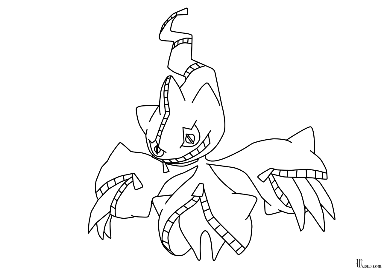 Diancie Coloring Pages