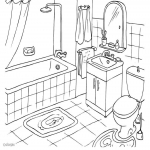 coloriage salle manger imprimer sur coloriages info. Black Bedroom Furniture Sets. Home Design Ideas