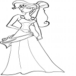 Coloriage Disney Megara