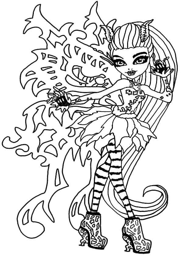 monster high cupid coloring pages - gil monster high baby coloring pages gil best free